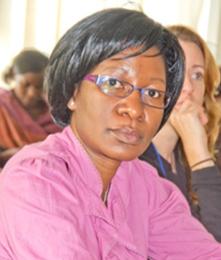 Harriet Mpeirwe 2015